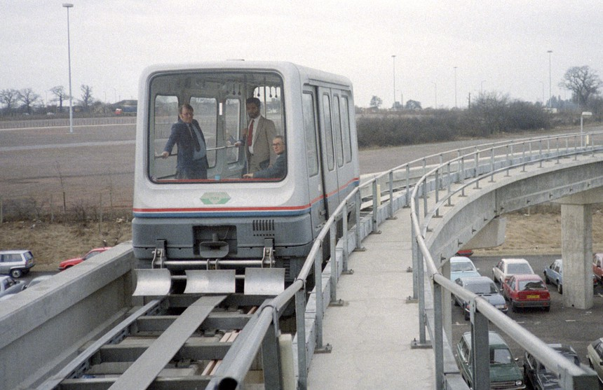Birmingham International Airport Maglev Shuttle