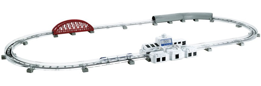 Tomy Linear Liner Maglev Toy Train Circle Track