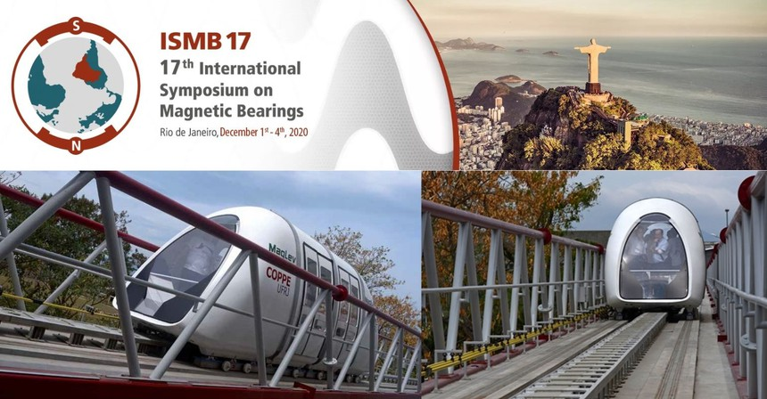 ISMB17 Conference and Maglev Cobra Coppe by UFRJ