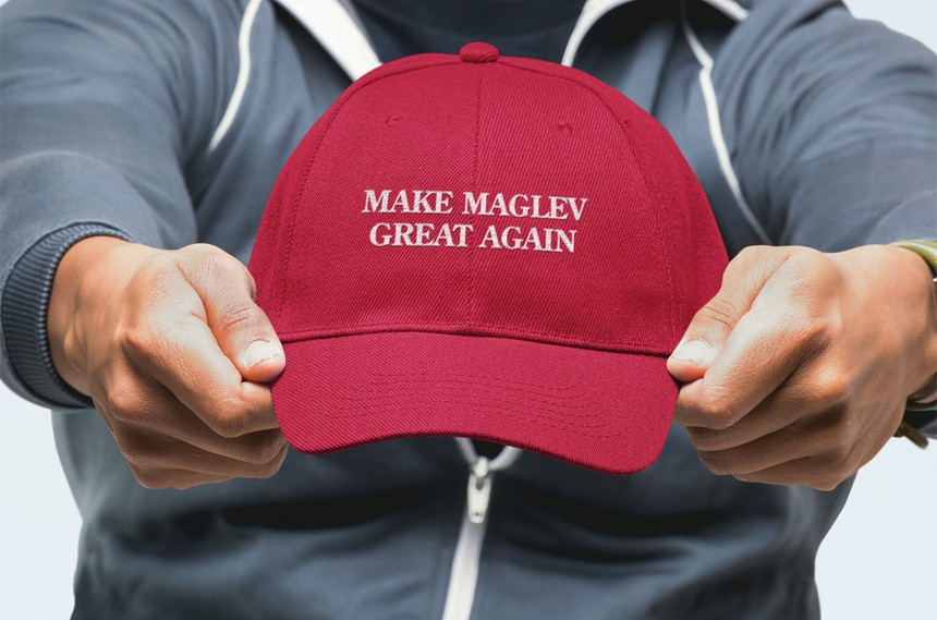 Make Maglev Great Again Maglev Baseball Hat