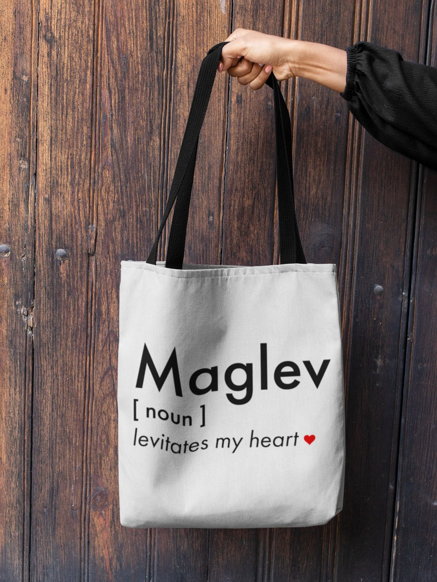 Levitates My Heart Maglev Shopping Bag