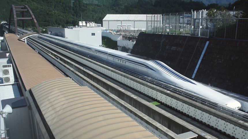 Series L0 on the Yamanashi Test Track