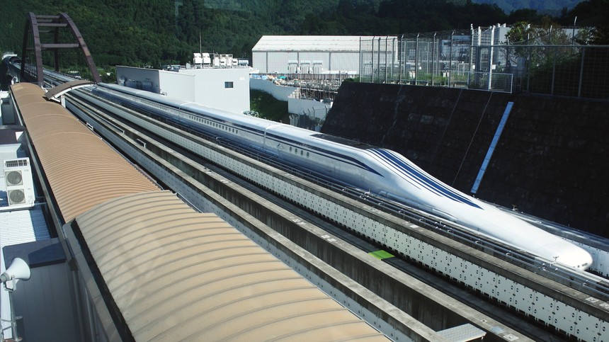 The L0 Series Maglev train