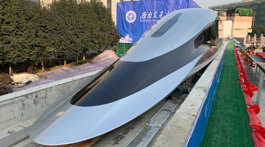 New Chinese maglev prototype design
