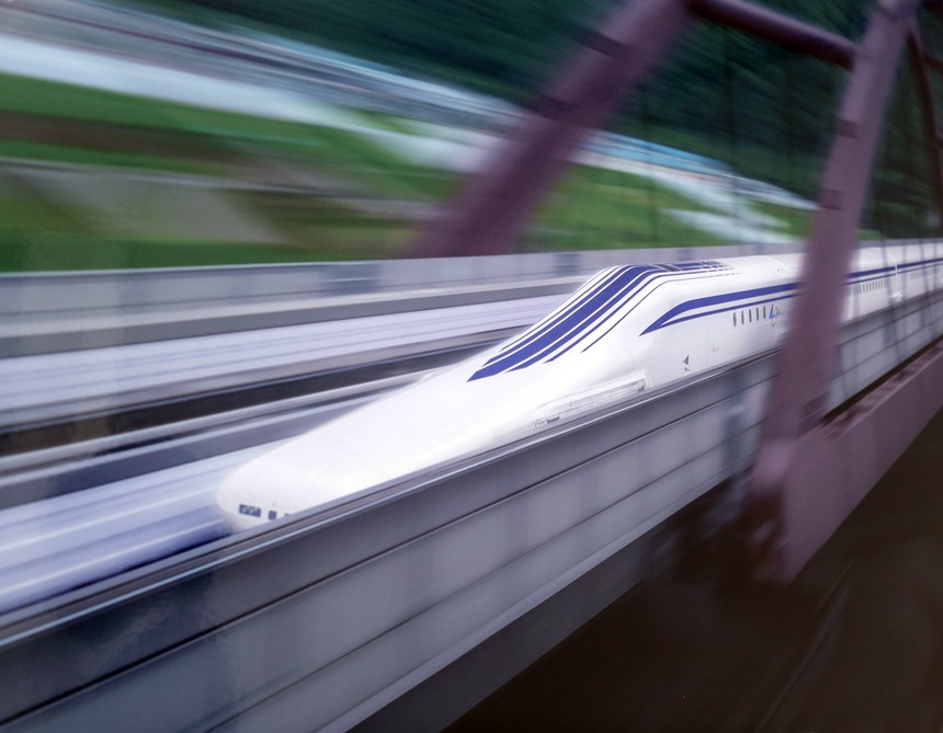 L0 Series Maglev going fast