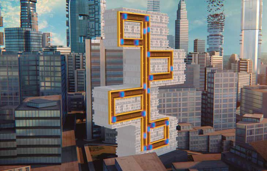 Rope-free Multi elevators