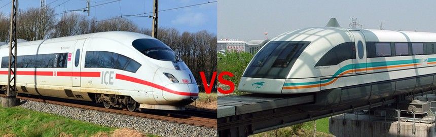 Transrapid Maglev Vs ICE 3 Performance