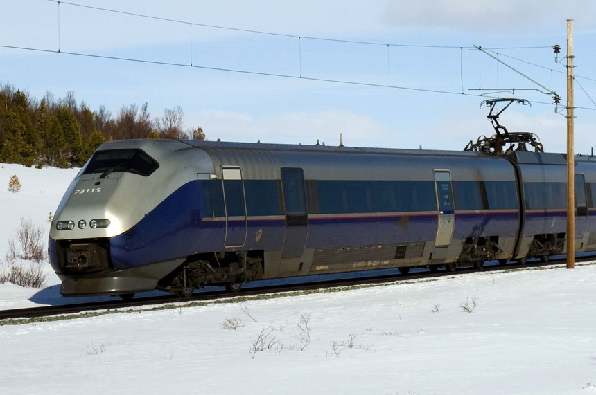 Norway NSB Class 73 high-speed train