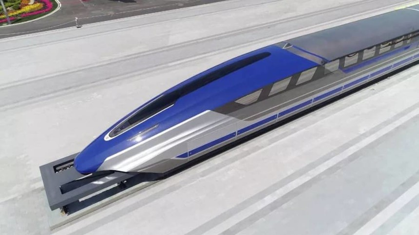 China High Speed Maglev Train