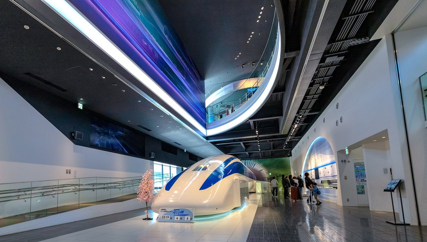Maglev Museum MLX01 Train