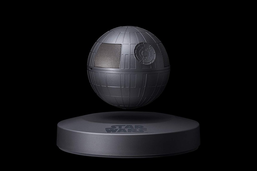Magnetically levitated Star Wars Death Star