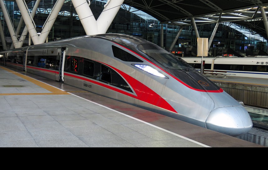 China CR400AF High-Speed Train