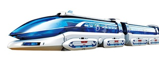 Magnetic Levitation Express Maglev Toy Train