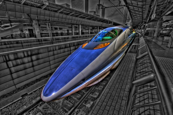 Shinkansen 500 Bullet Train by Altus