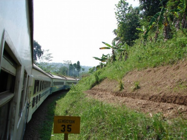 Indonesia Train Ride