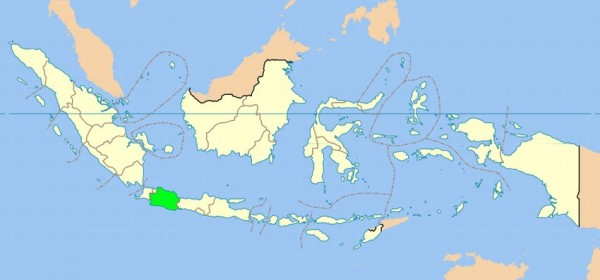 Indonesia - West Java map
