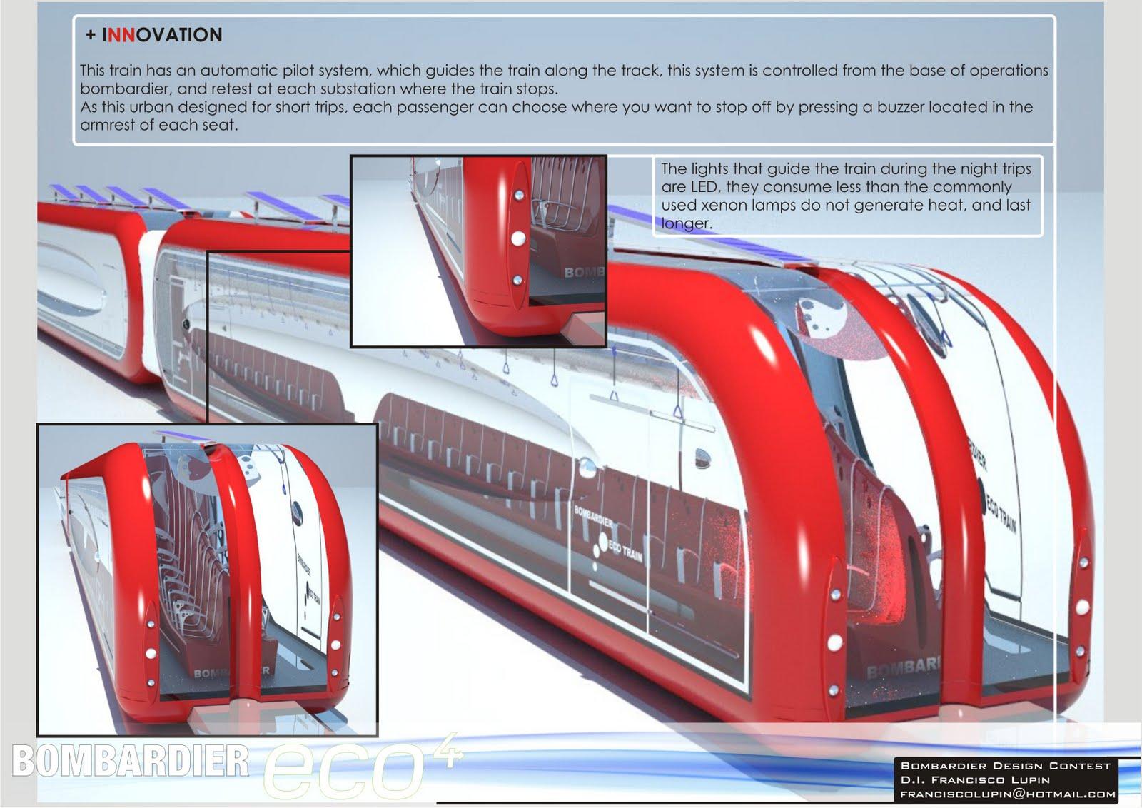 Solar Powered Maglev Train