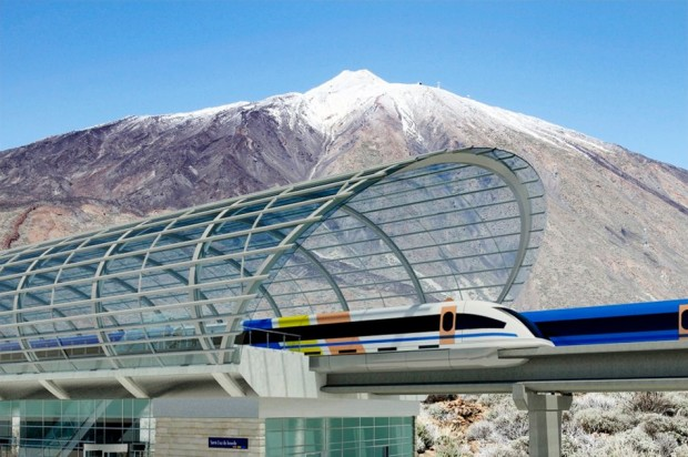 Maglev on the Canary Islands