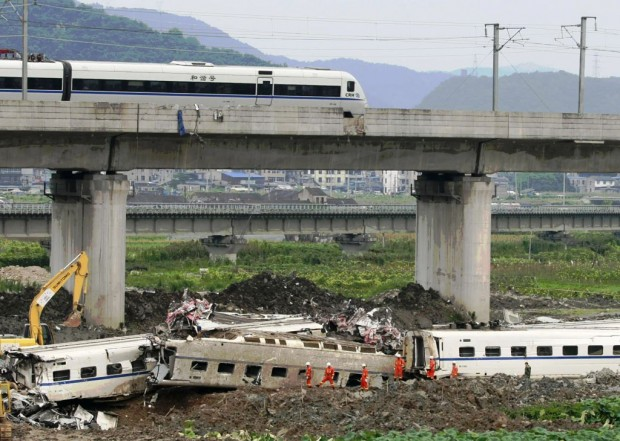 High Speed Train Crash