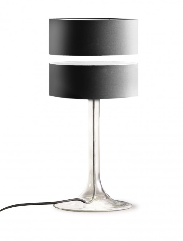 Eclipse Black lamp
