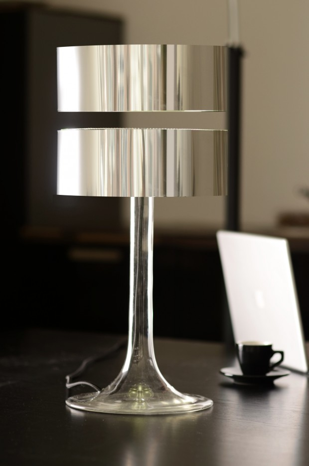 Eclipse Zilver maglev lamp