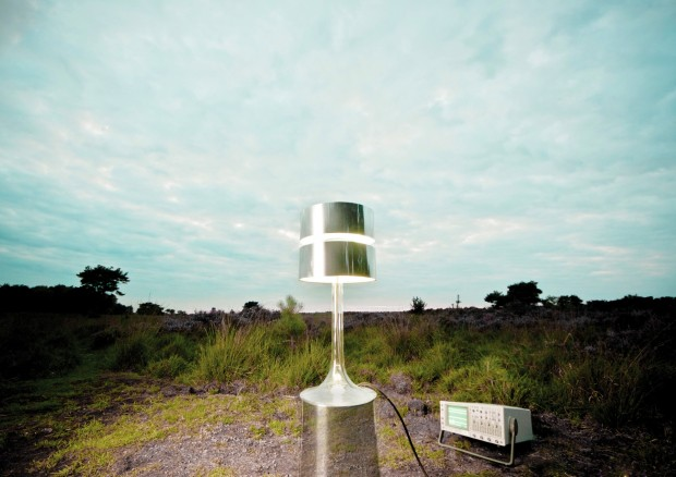 Maglev Lamp in Nature